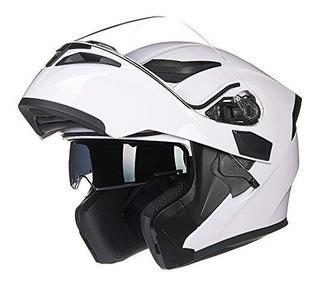 Il Motocicleta Doble Visera Modular Y Abatible Cara Completa