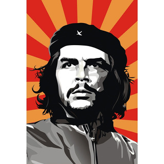 Placa - Quadro - Decorativo - Che Guevara - (v351)
