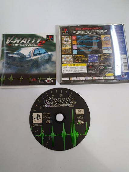 V-rally 2 Championship Edition - Ps1 - Playstation 1 - Comp