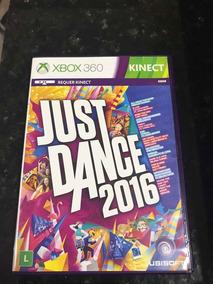 Jogo Xbox 360 Just Dance 2016 Original Mídia Física