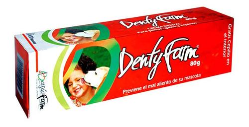 Crema Dental Para Mascotas Dentyfarm 80gr Limpieza Profunda!