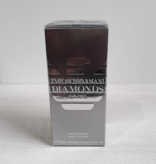 Perfume Armani Diamonds For Men Edt 75ml Original! Lacrado!