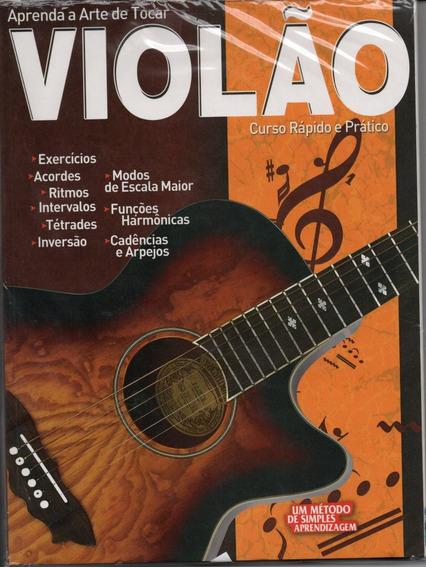 Curso Rápido E Prático Para Violão - Revista + 3 Dvds