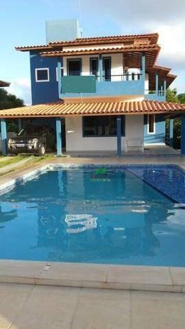 Casa Com 5 Dormitórios À Venda, 324 M² Por R$ 1.200.000,00 - Barra Do Jacuípe - Camaçari/ba - Ca2561