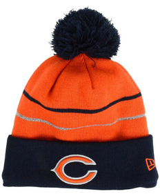 Touca Chicago Bears Nfl Thaksgiving On Field Cuffed Knit