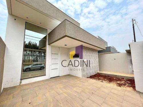 Imagem 1 de 11 de Casa À Venda - Tropical Iii - Cascavel/pr - Ca0468