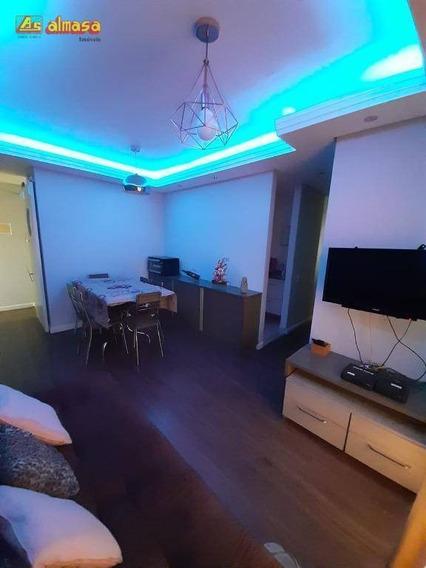 Apartamento Com 3 Dormitórios À Venda, 61 M² Por R$ 310.000,00 - Vila São João - Guarulhos/sp - Ap0396