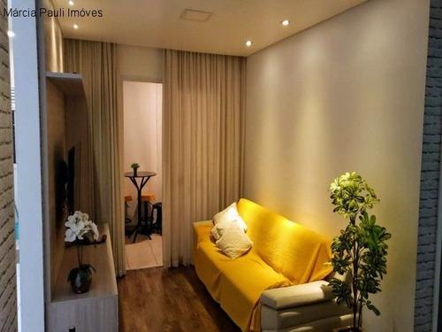 Imagem 1 de 12 de Apartamento A Venda Condomínio Flex I - Jardim Florida - Jundiaí. - Ap05794 - 69186856