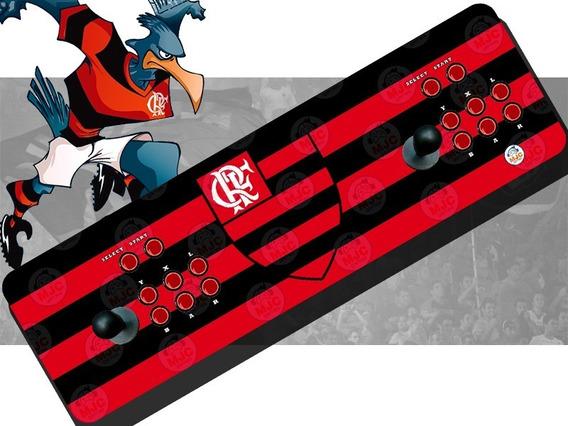 Fliperama Arcade Portátil Óptico Flamengo 20 Mil Jogos 64bg + Brinde
