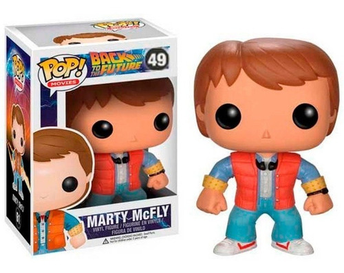Funko Pop Marty Mc Fly 49 Volver Al Futuro Baloo Toys