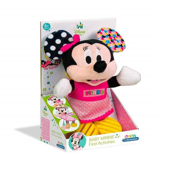 Pelúcia Clementoni Personagens Disney Baby Minnie Multilaser