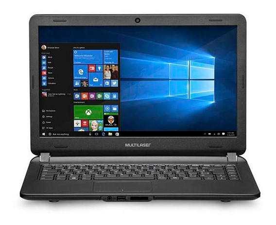 Notebook Multilaser Intel Core I3-5005u Hdmi Usb 4gb Ssd 120gb Pc400 Windows 10 Original Garantia Nota Fiscal Oferta