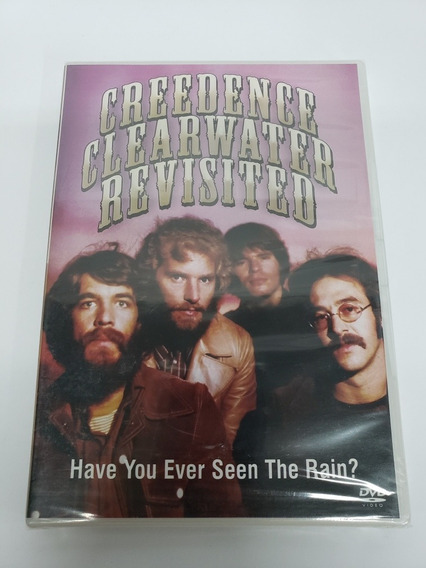 Dvd Creedence Clearwater Revisited Have You Seen The Rain?