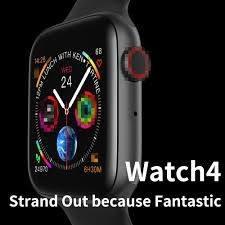 Apple Watch Relógio Lançamento 2019 Iwo 9 Serie 4 44 Mm