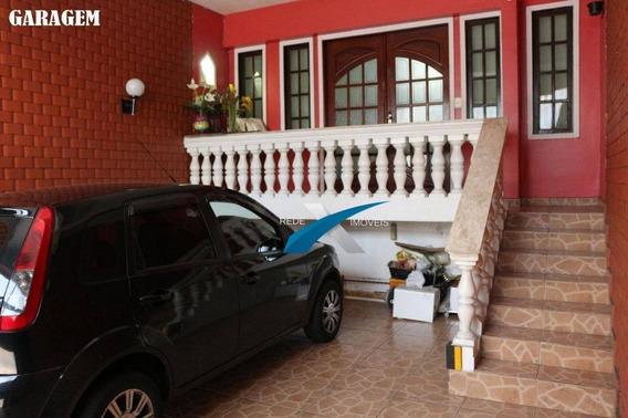 Sobrado 3 Dormitórios À Venda, 280 M² Por R$ 640.000 - Centro - Mogi Das Cruzes/sp - So0093