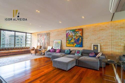 Apartamento Com 3 Dormitórios À Venda, 370 M² Por R$ 4.300.000,00 - Higienópolis - São Paulo/sp - Ap8260