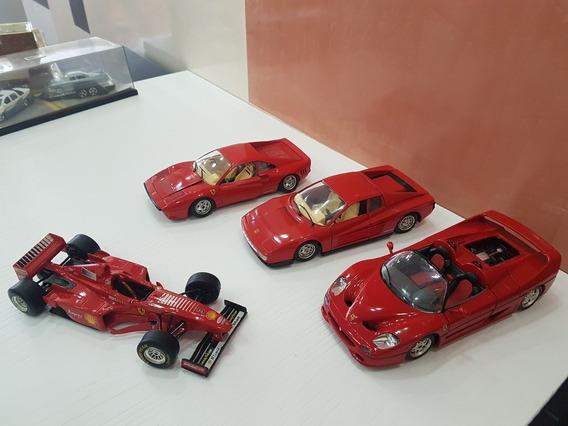 Colección De Ferrari En Oferta!! Escala 1/24 Detalles De Uso