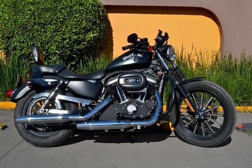 Imagen 1 de 14 de Harley Davidson Iron 883 Nacional Poco Uso Todo Pagado