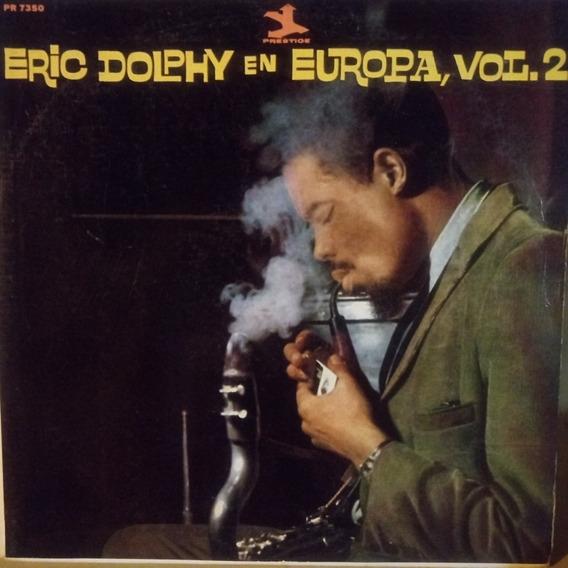 Eric Dolphy En Europa Vol 2 Tapa 7 Disco 8,5