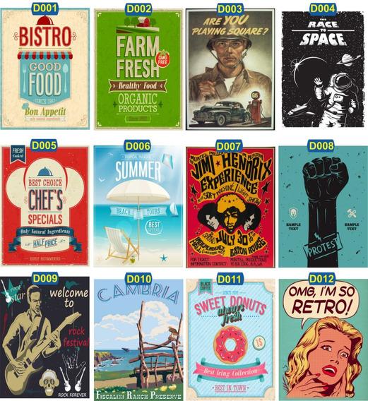 20 Placa De Decoração Mdf 30x20 Retrô Vintage Frases Cerveja