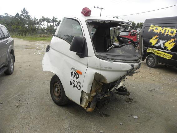 Sucata Hyundai Hr 2.5 Hd Cab. Curta S/ Carroceria Tci 2p