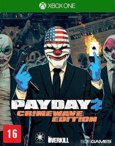 Payday 2 Crimewave Edition One Usado Original Midia Fisica
