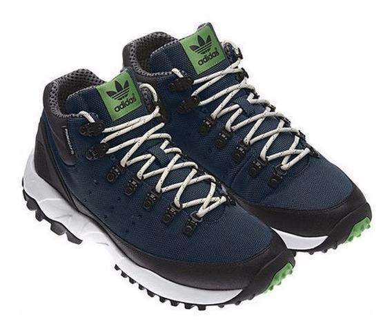Tênis adidas Torsion Trail Mid Azul Petróleo Tamanho 42