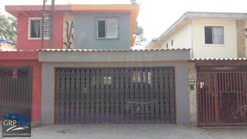 Sobrado Para Venda Em Santo André, Vila Guiomar, 3 Dormitórios, 1 Suíte, 1 Banheiro, 2 Vagas - 4303_1-965643
