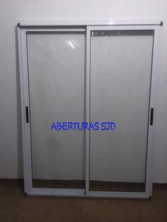 Puerta Balcon Modena 150x200 Doble Vidrio Hermetico Dvh 09