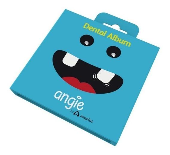 Porta Dente De Leite Para Crianças Dental Álbum Angie