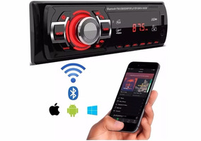 Auto Radio Mp3 Player Som Automotivo Usb Sd Toca Fm