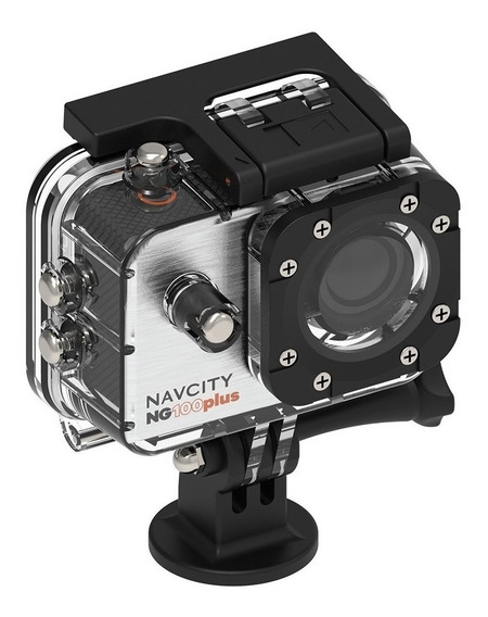 Câmera Esportiva Navcity Ng-100 Plus 4k +case À Prova D