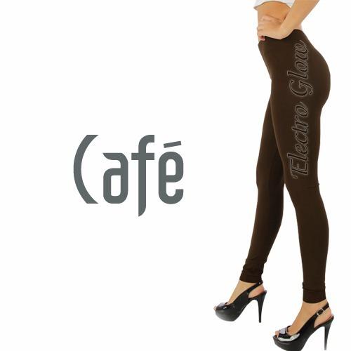 Leggins Jera Jeans Dama Termicos Afelpados Café 10pzs