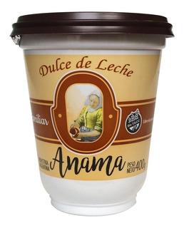 Dulce De Leche Familiar Anama 400 Grs Sin Tacc Gluten Cuotas