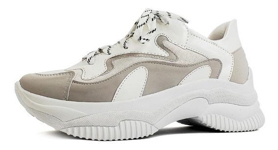 Tênis Feminino Chunky Sneakers Sapatênis Casual Damannu