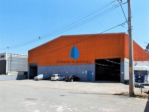 Centro Emp. Raposo Tavares (km 43) - Galpão Novo, Com Renda! - 3303