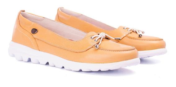 Zapatillas Mujer Zapatos Cavatini Cuero Vacuno Ultra Liviana
