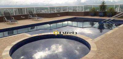 Apartamento Com 4 Dormitórios À Venda, 143 M² Por R$ 700.000 - Vila Guilhermina - Praia Grande/sp - Ap10531