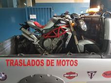 Traslado De Motos - Auxilio De Motos - Remolque De Motos