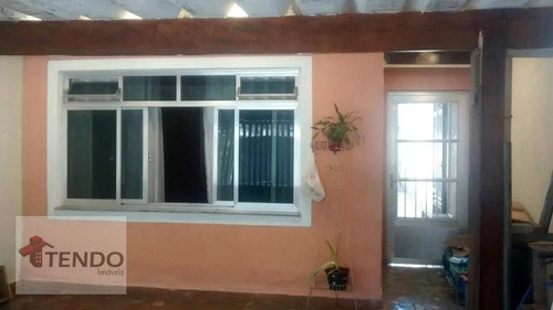 Imagem 1 de 15 de Casa 100 M² - Venda - 2 Dormitórios - Parque São Vicente - Mauá/sp  / Imob03 - Ca0268