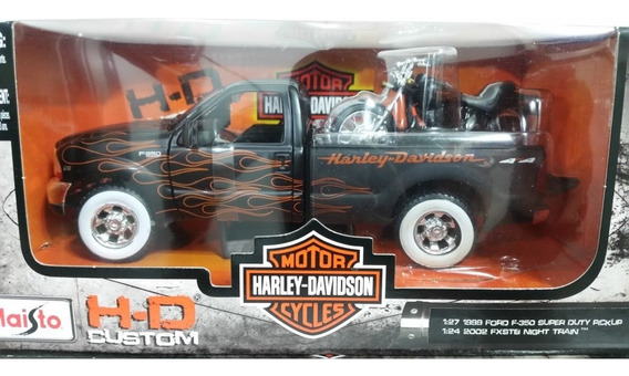 Colección Harley Davidson Ford Super Duty Pickup Escala1/24