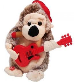 Macaco De Pelúcia Musical Dança E Toca Guitarra Ch8023