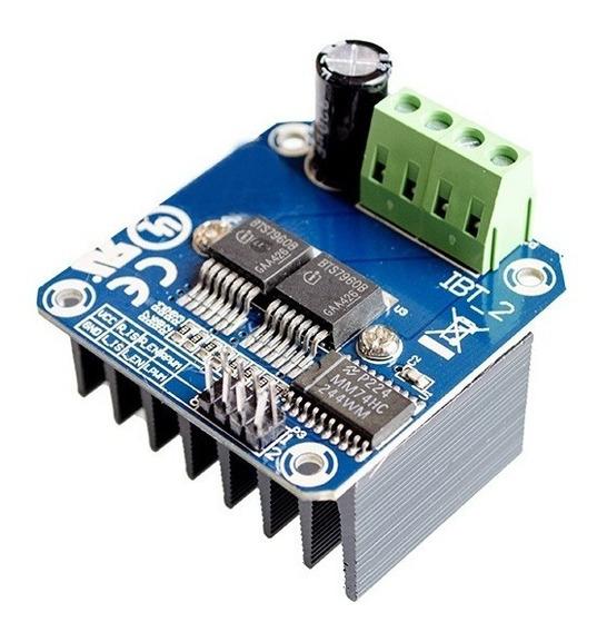 Módulo Driver Ponte H 43a Bts7960 Ibt_2 Bts7960b - Arduino