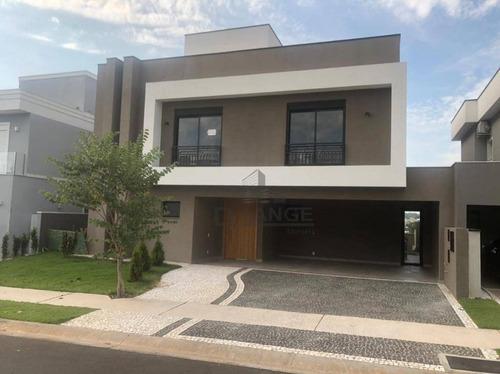 Casa Com 4 Dormitórios À Venda, 313 M² Por R$ 2.080.000,00 - Loteamento Parque Dos Alecrins - Campinas/sp - Ca14814