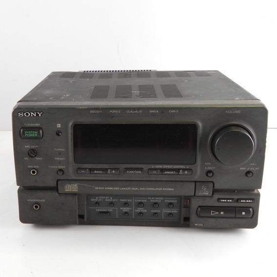 Receiver Sony Hcd H1700 Raro Vintage - Usado C/ Defeito