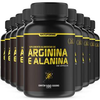 Arginina + Alanina No2 9x100 Cápsulas De 1000mg Natuforme