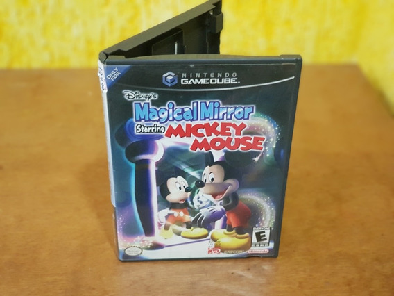 Mágical Mirror Starring Mickey Mouse Nintendo Game Cube