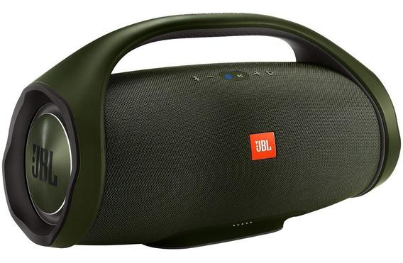 Caixa De Som Jbl Boombox Verde Nova Original