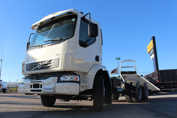 Volvo Vm 260 6×4 2009 No Chassi = Vw Ford Cargo Volks