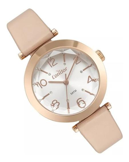 Relógio Condor Feminino Rose Lapidado Coy121e1ab/2k Original